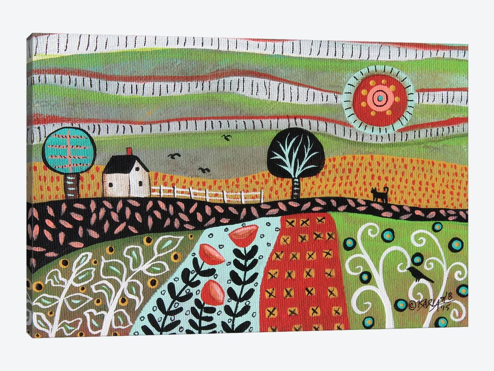 Floral Meadow I by Karla Gerard 1-piece Canvas Art Print