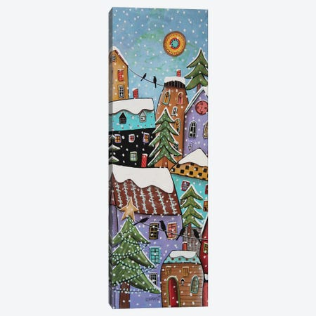 7 O'Clock 3-Piece Canvas #KAG11} by Karla Gerard Canvas Print