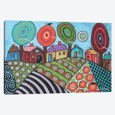 Garden Patches Canvas Print #KAG140} by Karla Gerard Canvas Wall Art