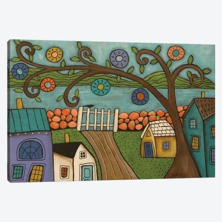 Gate To Sea Canvas Print #KAG143} by Karla Gerard Canvas Art