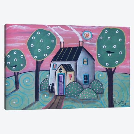 Heart House II Canvas Print #KAG157} by Karla Gerard Canvas Art