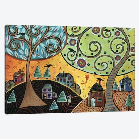 Kite Lady Canvas Print #KAG171} by Karla Gerard Canvas Print
