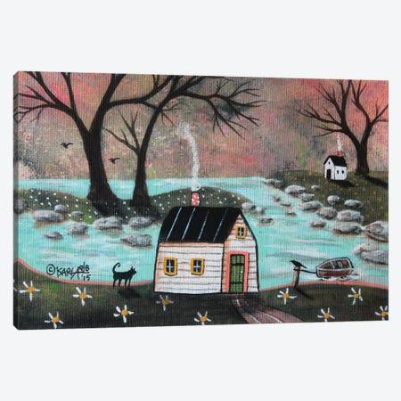 Lakeside Isle I Canvas Print #KAG175} by Karla Gerard Canvas Artwork