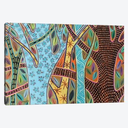 Abstract Trees I Canvas Print #KAG17} by Karla Gerard Canvas Artwork