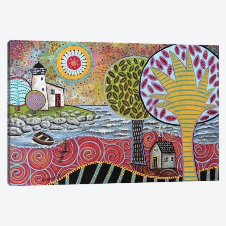 Lighthouse I Canvas Print #KAG183} by Karla Gerard Canvas Artwork
