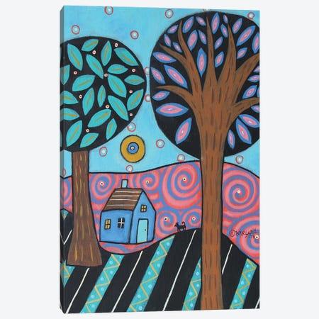 Lovely Landscape Canvas Print #KAG186} by Karla Gerard Art Print