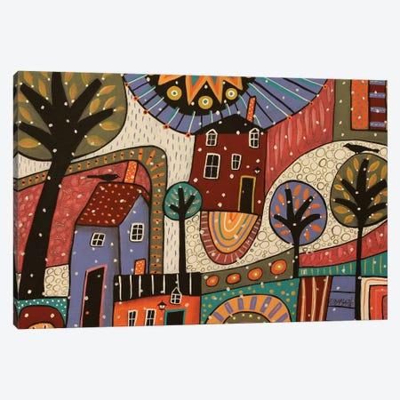 Abstract Winter Canvas Print #KAG18} by Karla Gerard Canvas Art Print