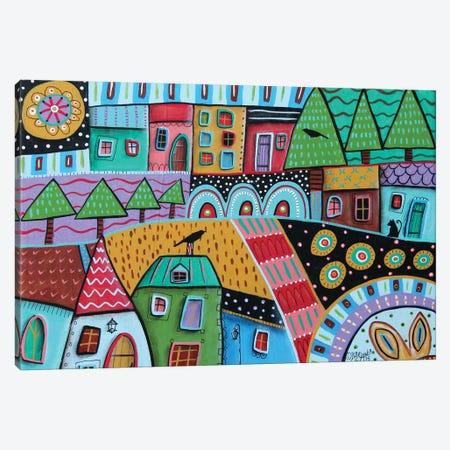 Motley Landscape I Canvas Print #KAG193} by Karla Gerard Canvas Print