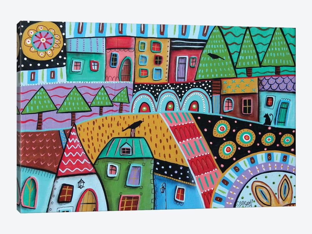 Motley Landscape I by Karla Gerard 1-piece Art Print