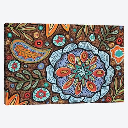 Paisley Delight Canvas Print #KAG218} by Karla Gerard Canvas Art