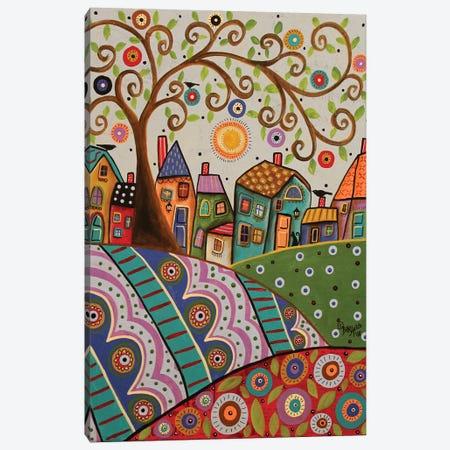 Amusing Landscape Canvas Print #KAG21} by Karla Gerard Canvas Wall Art