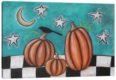 Pumpkins Canvas Art Print