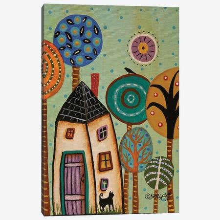 Purple Door I Canvas Print #KAG243} by Karla Gerard Canvas Art Print