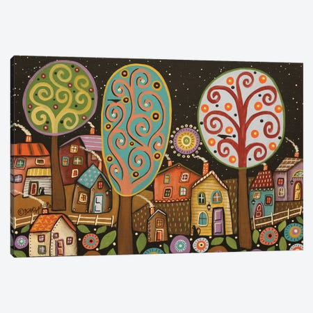 Quiet Night Canvas Print #KAG246} by Karla Gerard Canvas Art