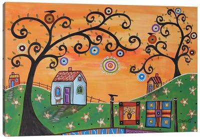 Quilter Delight Canvas Art Print