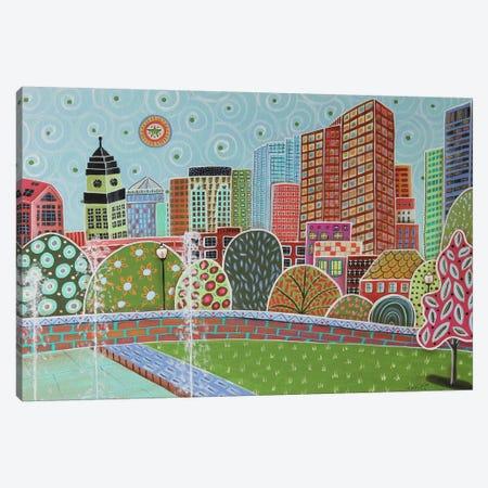 Rose Fitzgerald Kennedy Greenway Boston Canvas Print #KAG262} by Karla Gerard Art Print