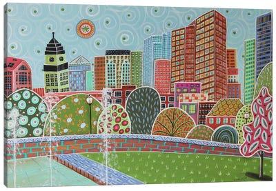 Rose Fitzgerald Kennedy Greenway Boston Canvas Art Print