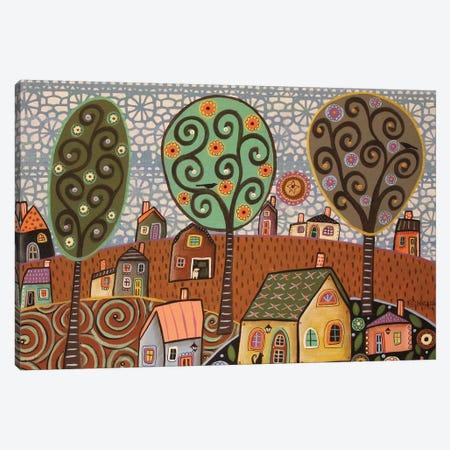 Rural Splendor Canvas Print #KAG267} by Karla Gerard Canvas Wall Art