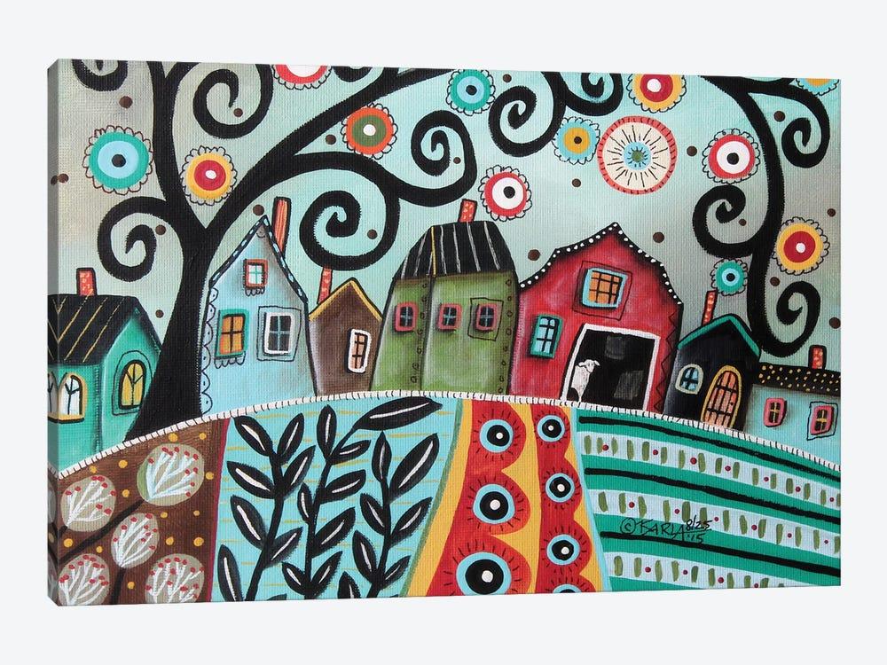 Rural Town 1 by Karla Gerard 1-piece Canvas Print