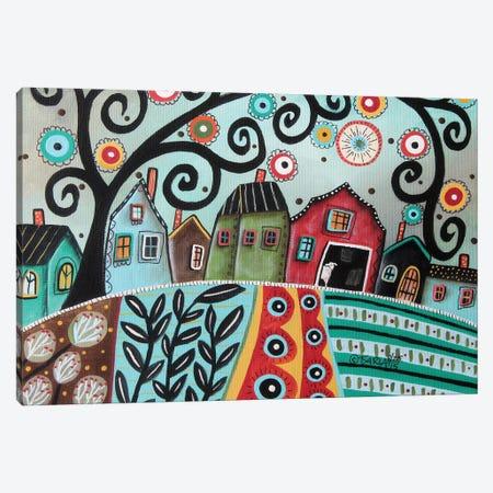 Rural Town 1 Canvas Print #KAG268} by Karla Gerard Canvas Print