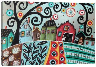 Rural Town 1 Canvas Art Print