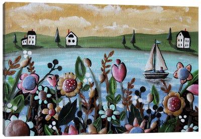 Sailboating 1 Canvas Art Print
