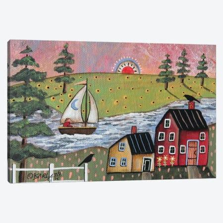 Sailing 1 Canvas Print #KAG272} by Karla Gerard Canvas Wall Art