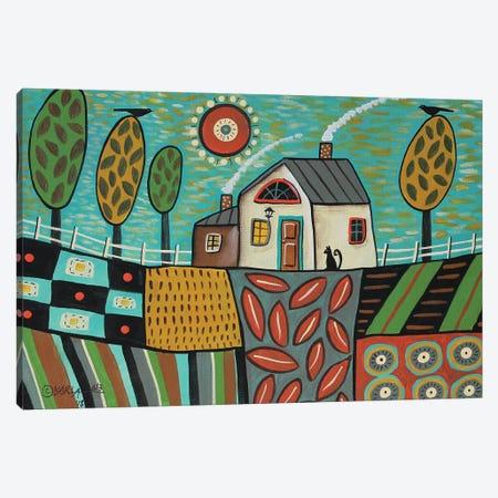 Saturday Morning Canvas Print #KAG275} by Karla Gerard Art Print