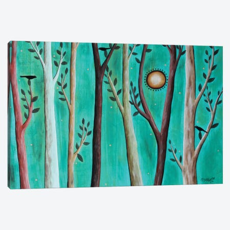 Serene Forest 1 Canvas Print #KAG279} by Karla Gerard Canvas Art