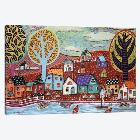 Shoreline 1 Canvas Print #KAG284} by Karla Gerard Canvas Art