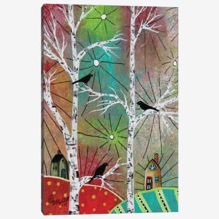 Singing Birds 1 Canvas Print #KAG287} by Karla Gerard Canvas Art
