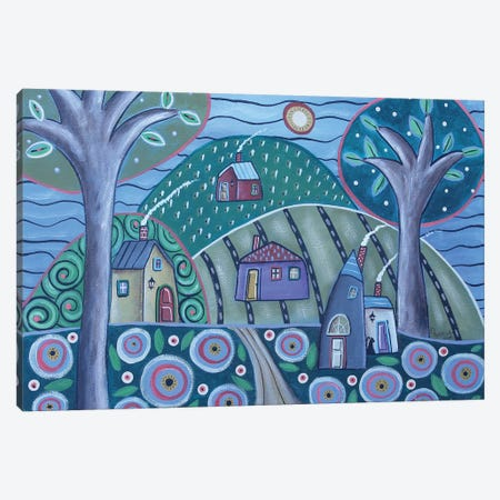 Sky Of Blue Canvas Print #KAG289} by Karla Gerard Canvas Art Print