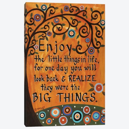 Big Things Canvas Print #KAG28} by Karla Gerard Canvas Art