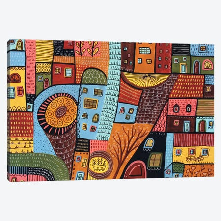 Small Town I Canvas Print #KAG292} by Karla Gerard Canvas Art