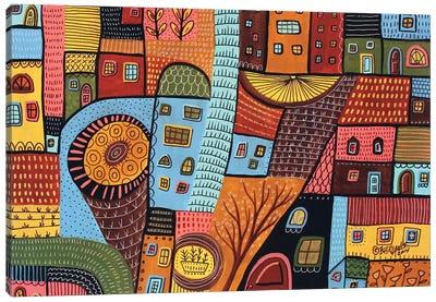 Small Town I Canvas Art Print