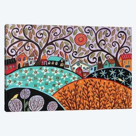 Small Town III Canvas Print #KAG294} by Karla Gerard Canvas Print