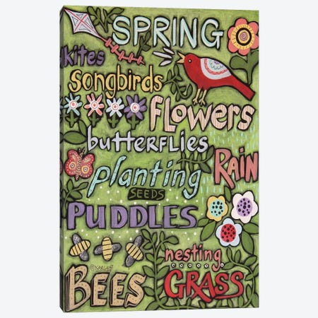 Spring I Canvas Print #KAG304} by Karla Gerard Canvas Print
