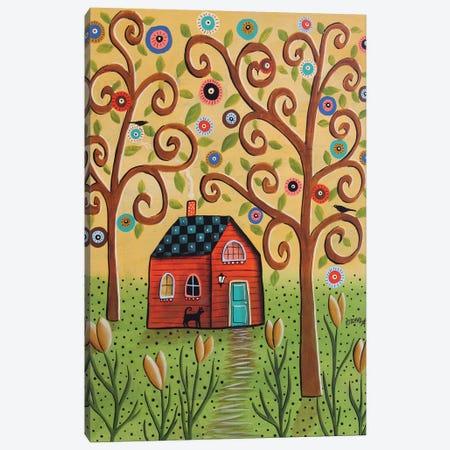 Spring Flowers Canvas Print #KAG307} by Karla Gerard Canvas Print