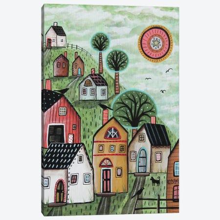 Spring Green I Canvas Print #KAG308} by Karla Gerard Canvas Artwork