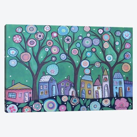 Spring Sky Canvas Print #KAG309} by Karla Gerard Canvas Artwork