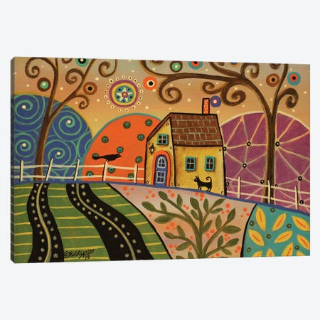 Springtime Canvas Print #KAG310} by Karla Gerard Art Print