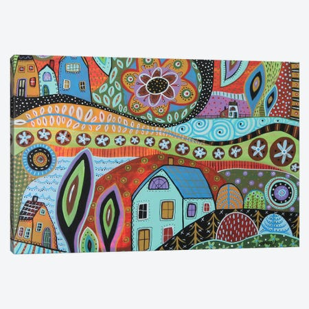 Striking Landscape Canvas Print #KAG317} by Karla Gerard Canvas Wall Art