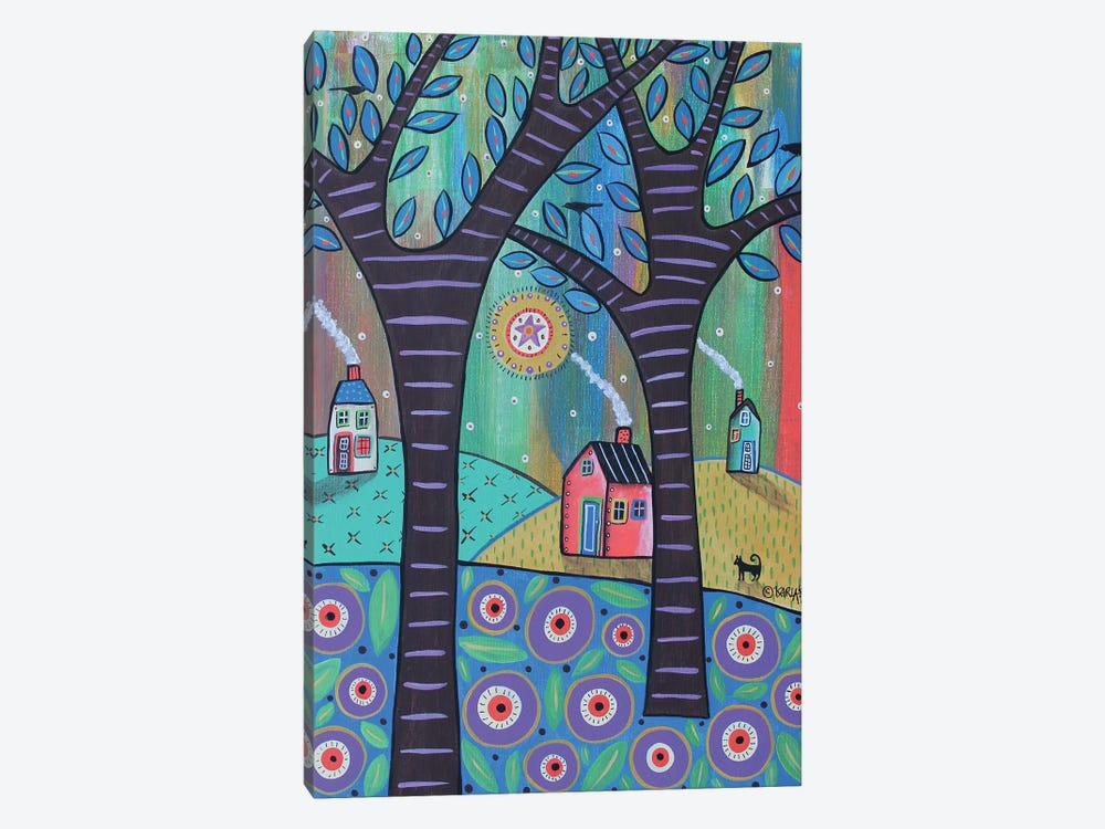 Summer Cottages by Karla Gerard 1-piece Art Print
