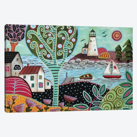 Summer Day I Canvas Print #KAG322} by Karla Gerard Canvas Wall Art