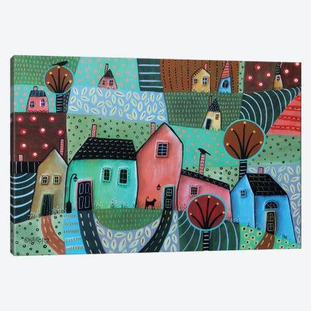 Summer Greens I Canvas Print #KAG325} by Karla Gerard Canvas Art Print