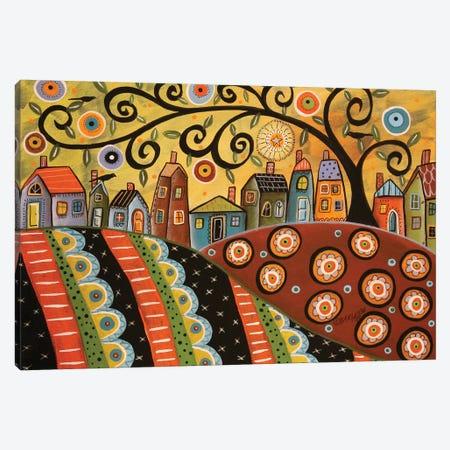 Sunny Landscape Canvas Print #KAG327} by Karla Gerard Canvas Print