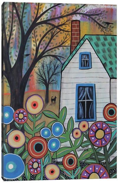 Sweet Cottage Canvas Art Print