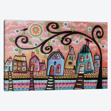 Sweet Town I Canvas Print #KAG332} by Karla Gerard Canvas Art Print