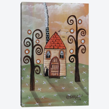 Tan House I Canvas Print #KAG338} by Karla Gerard Art Print