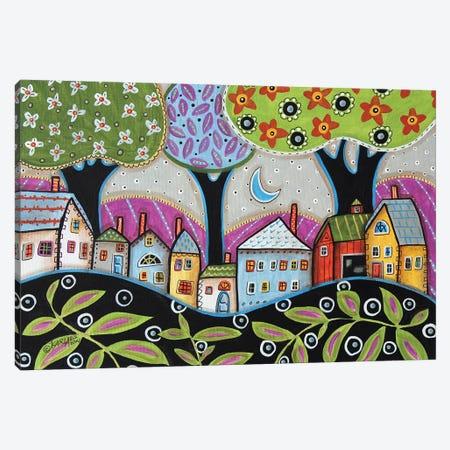 Town I Canvas Print #KAG346} by Karla Gerard Canvas Print